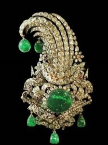 emerald-jewellery-1 گردنبند زمرد الماس تراش نقره زنانه طرح کرال