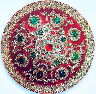 emerald-jewellery-3 انگشتر نقره زمرد الماس تراش مردانه طرح صفوی چالاک