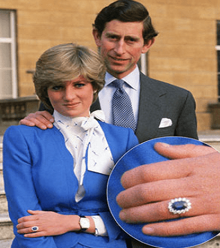ruby-ring نیم ست یاقوت کبود الماس تراش نقره زنانه طرح ریحانا