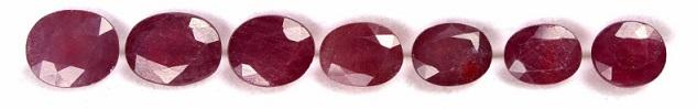 ruby انگشتر یاقوت سرخ الماس تراش نقره زنانه طرح ثمینه