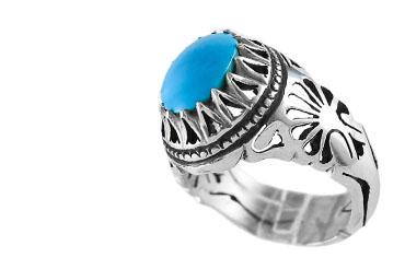 turquoise01 خرید انگشتر فیروزه نیشابوری نفیس و انواع گردنبند زنانه و مردانه