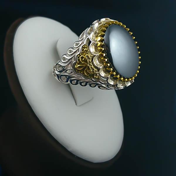 1-1-058-adid-chinese-ring-1 هماتیت (حدید) و عجایب آن + خواص سنگ حدید در احادیث و کتب علمی
