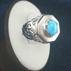 2-1-048-turquoise-ring-5-230x230 خرید انگشتر فیروزه نیشابوری نفیس و انواع گردنبند زنانه و مردانه