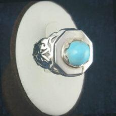 2-1-049-turquoise-ring-6-230x230 خرید انگشتر فیروزه نیشابوری نفیس و انواع گردنبند زنانه و مردانه