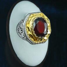 9-1-001-garnet-ring-6-230x230 سنگ ماه تولد آبان :بررسی تخصصی انواع سنگ ماه آبان + خواص + قیمت