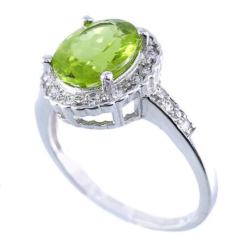 women-peridot-ring-2 سنگ زبرجد: خواص سنگ زبرجد سبز در اسلام، روش تشخیص، نگهداری و قیمت زبرجد
