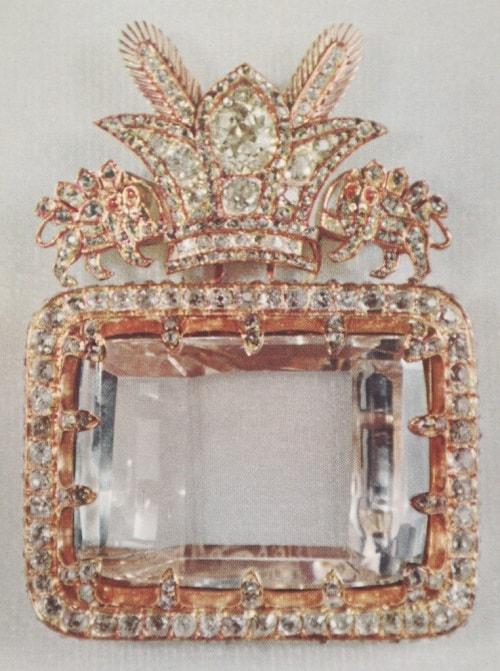 Daria_Noor_Diamond1 الماس کوه نور و الماس دریای نور داستانی عجیب از نادرشاه تا ملکه انگلیس