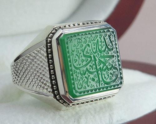 agate-ring-2 عقیق سبز: آنچه درباره سنگ عقیق سبز و خواص فراوان این سنگ سبز باید بدانید