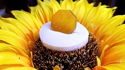 agate-stone عقیق زرد همراهبا بررسی تخصصی طلسم شرف الشمس (خرافه یا واقعیت)