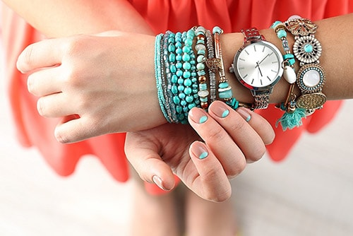 bracelet014 دستبند: نکات طلایی برای انتخاب مدل دستبند +۶۰ عکس دستبند خاص