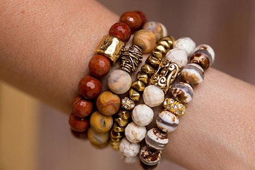 bracelet025 دستبند: نکات طلایی برای انتخاب مدل دستبند +۶۰ عکس دستبند خاص