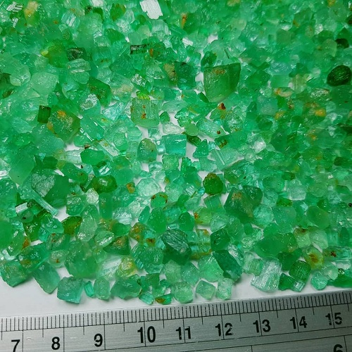 collection-of-emerald-2 سنگ زمرد پنجشیر افعانستان: نحوه تشخیص، روش نگهداری و خواص زمرد افغانستان