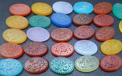 colors-of-agate سنگ عقیق کبود: روش تشخیص، قیمت و خواص سنگ عقیق یمنی کبود اصل