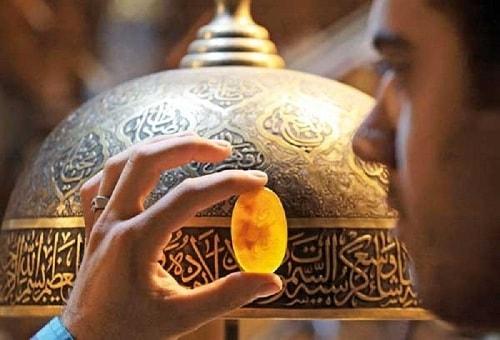 sharaf-picture تشخیص سنگ حدید اصل + تشخیص سنگ شرف الشمس اصل
