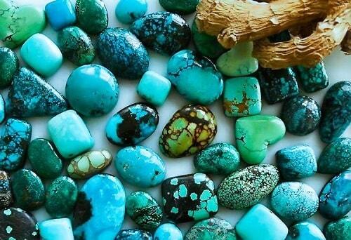types-turquoise فیروزه اصل را چگونه بشناسیم؟ به همراه توضیحات کامل قیمت سنگ فیروزه نیشابوری