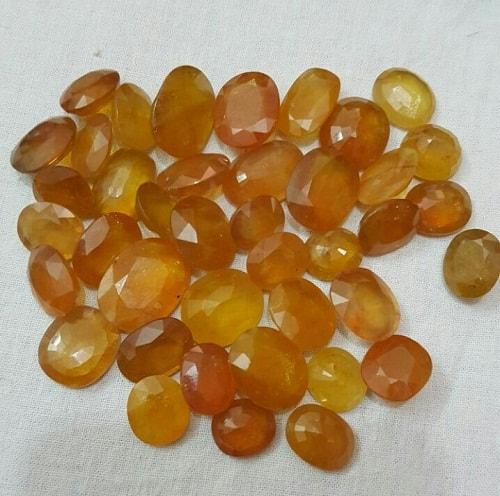 yellow-rubys یاقوت زرد : راه تشخیص و قیمت گذاری + خواص کامل سنگ یاقوت زرد