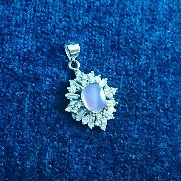 4-3-031-burgundy-agate-necklace-4 گردنبند نقره زنانه طرح ماهک با سنگ عقیق کبود یمنی