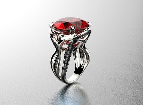 garnet-ring لعل و همه چیز درباره آن + خواص لعل + بررسی کامل سنگ لعل بدخشان