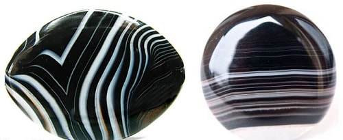onyx-and-black-agate سنگ ماه تولد مرداد مطابق توافق جهانی + خواص کامل سنگ ماه مرداد