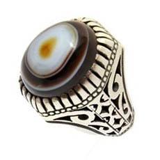 agate-of-babburi-ring-min سنگ شجر : پاسخ همه سوالات درباره انگشتر شجر + عکس شجر های خاص