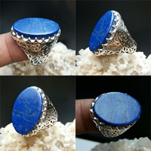 lapis-lazuli-ring سنگ ماه تولد دی : بررسی تخصصی انواع سنگ ماه دی + خواص + قیمت
