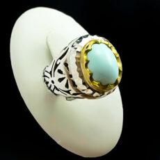 2-1-058-turquoise-ring-2-230x230 خرید انگشتر فیروزه نیشابوری نفیس و انواع گردنبند زنانه و مردانه