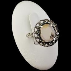 4-1-074-dendrite-agate-ring-4-230x230 سنگ شجر : پاسخ همه سوالات درباره انگشتر شجر + عکس شجر های خاص