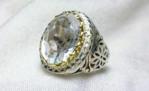 najaf-dur-ring-hand-made انگشتر در نجف نقره زنانه طرح رزیتا